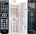 SHARP RRMCGA203AWSA replacement remote control