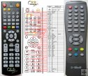 X-SITE XS-DVBT-55B - replacement remote control