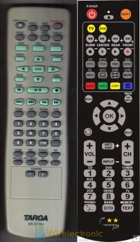 Targa DR-5100X - Replacement remote control