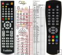 Golden Media 815 PVR remote control replacement