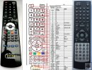 DENVER TFD-2213 replacement remote control