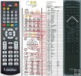 Teac RC-1271 remote control replacement
