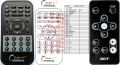 Acer C20 - replacement remote control