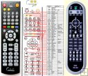 Daewoo AM-41D for DHC-X100, DHC-X150E replacement remote control