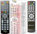 Zircon T3000HD Plustelka - replacement remote control