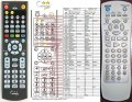 Silva Schneider VCD8040 - replacement remote control