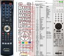 Sony RM-AAP011 remote control replacement