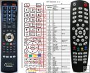 Gosat GS-2010CR remote control replacement