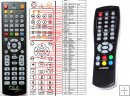 Hyundai DVB-T210 - replacement remote control - Version 1