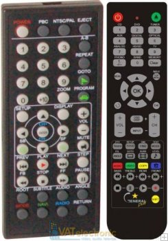 Molpir DVM-701 - Replacement remote control
