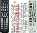 LG 6710CDAK11C - replacement remote control