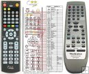 TECHNICS EUR7702050 = EUR7702270W - replacement remote control
