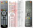 Medion MD-28004 - replacement remote control