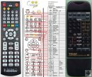 Teac UR-407 remote control replacement