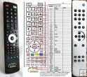 Cambridge audio AZUR 640T - replacement remote control