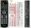 Philips HTS8100/EU - Replacement remote control