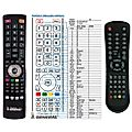 NORDMENDE N2001LB - remote control, replacement