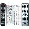 HOMETECH DVD-678, DVD-688, DVD-690C - remote control, replacement