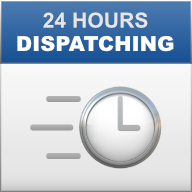 We dispatch all orders every working day until 15:00